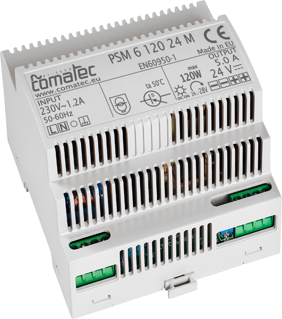 18.  ALIMENTATION RAIL-DIN 96W – 24 VDC A TENSION D'ENTREE UNIVERSELLE !